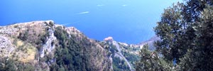 sea view of amalfi coast